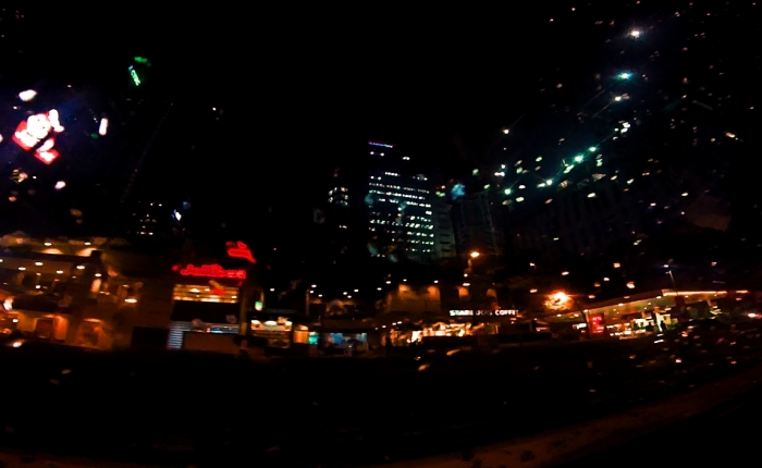 City lights guiding mehome.